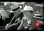 Image of tourists at restaurants West Palm Beach Florida USA, 1936, second 59 stock footage video 65675031877