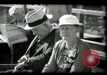 Image of tourists at restaurants West Palm Beach Florida USA, 1936, second 60 stock footage video 65675031877