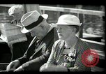 Image of tourists at restaurants West Palm Beach Florida USA, 1936, second 62 stock footage video 65675031877