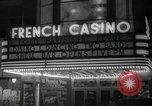 Image of clubs and casinos Miami Florida USA, 1936, second 18 stock footage video 65675031883