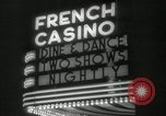 Image of clubs and casinos Miami Florida USA, 1936, second 24 stock footage video 65675031883