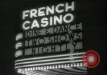 Image of clubs and casinos Miami Florida USA, 1936, second 25 stock footage video 65675031883