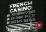 Image of clubs and casinos Miami Florida USA, 1936, second 26 stock footage video 65675031883