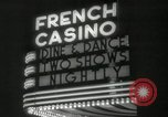 Image of clubs and casinos Miami Florida USA, 1936, second 27 stock footage video 65675031883