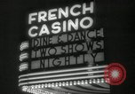 Image of clubs and casinos Miami Florida USA, 1936, second 29 stock footage video 65675031883