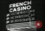 Image of clubs and casinos Miami Florida USA, 1936, second 30 stock footage video 65675031883