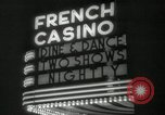 Image of clubs and casinos Miami Florida USA, 1936, second 33 stock footage video 65675031883