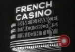 Image of clubs and casinos Miami Florida USA, 1936, second 36 stock footage video 65675031883