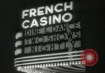 Image of clubs and casinos Miami Florida USA, 1936, second 37 stock footage video 65675031883