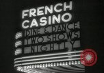 Image of clubs and casinos Miami Florida USA, 1936, second 38 stock footage video 65675031883
