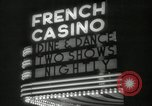 Image of clubs and casinos Miami Florida USA, 1936, second 39 stock footage video 65675031883