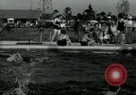 Image of trailer camp Miami Florida USA, 1936, second 17 stock footage video 65675031901