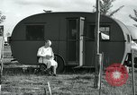 Image of trailer camp Miami Florida USA, 1936, second 23 stock footage video 65675031901