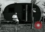 Image of trailer camp Miami Florida USA, 1936, second 24 stock footage video 65675031901