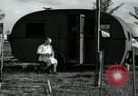 Image of trailer camp Miami Florida USA, 1936, second 25 stock footage video 65675031901