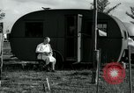 Image of trailer camp Miami Florida USA, 1936, second 28 stock footage video 65675031901