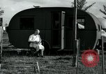 Image of trailer camp Miami Florida USA, 1936, second 29 stock footage video 65675031901