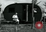 Image of trailer camp Miami Florida USA, 1936, second 30 stock footage video 65675031901