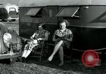 Image of trailer camp Miami Florida USA, 1936, second 44 stock footage video 65675031901