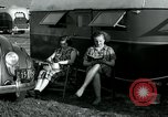 Image of trailer camp Miami Florida USA, 1936, second 45 stock footage video 65675031901