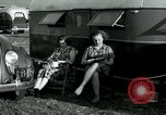 Image of trailer camp Miami Florida USA, 1936, second 46 stock footage video 65675031901