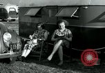 Image of trailer camp Miami Florida USA, 1936, second 49 stock footage video 65675031901