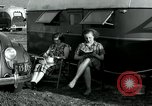 Image of trailer camp Miami Florida USA, 1936, second 50 stock footage video 65675031901