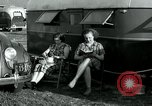 Image of trailer camp Miami Florida USA, 1936, second 51 stock footage video 65675031901