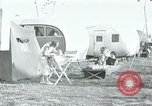 Image of trailer camp Miami Florida USA, 1936, second 52 stock footage video 65675031901