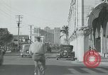 Image of tourists Miami Florida USA, 1936, second 9 stock footage video 65675031909