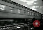 Image of passenger train West Palm Beach Florida USA, 1936, second 12 stock footage video 65675031917