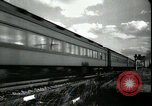 Image of passenger train West Palm Beach Florida USA, 1936, second 16 stock footage video 65675031917