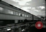 Image of passenger train West Palm Beach Florida USA, 1936, second 17 stock footage video 65675031917