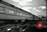 Image of passenger train West Palm Beach Florida USA, 1936, second 18 stock footage video 65675031917