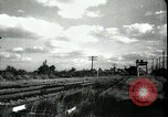 Image of passenger train West Palm Beach Florida USA, 1936, second 21 stock footage video 65675031917