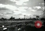 Image of passenger train West Palm Beach Florida USA, 1936, second 23 stock footage video 65675031917