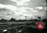 Image of passenger train West Palm Beach Florida USA, 1936, second 24 stock footage video 65675031917