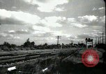 Image of passenger train West Palm Beach Florida USA, 1936, second 26 stock footage video 65675031917