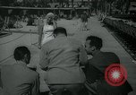 Image of 1930s tourists in swim suits West Palm Beach Florida USA, 1936, second 6 stock footage video 65675031920