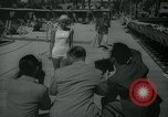 Image of 1930s tourists in swim suits West Palm Beach Florida USA, 1936, second 12 stock footage video 65675031920