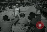 Image of 1930s tourists in swim suits West Palm Beach Florida USA, 1936, second 15 stock footage video 65675031920