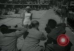 Image of 1930s tourists in swim suits West Palm Beach Florida USA, 1936, second 17 stock footage video 65675031920