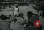 Image of 1930s tourists in swim suits West Palm Beach Florida USA, 1936, second 20 stock footage video 65675031920