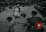 Image of 1930s tourists in swim suits West Palm Beach Florida USA, 1936, second 30 stock footage video 65675031920