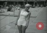 Image of 1930s tourists in swim suits West Palm Beach Florida USA, 1936, second 39 stock footage video 65675031920