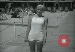 Image of 1930s tourists in swim suits West Palm Beach Florida USA, 1936, second 41 stock footage video 65675031920