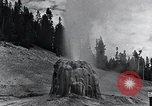 Image of Yellowstone National Park United States USA, 1940, second 21 stock footage video 65675031924