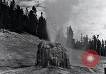 Image of Yellowstone National Park United States USA, 1940, second 24 stock footage video 65675031924