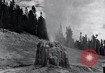 Image of Yellowstone National Park United States USA, 1940, second 25 stock footage video 65675031924