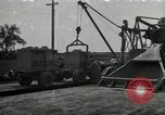 Image of Road construction United States USA, 1930, second 1 stock footage video 65675031956